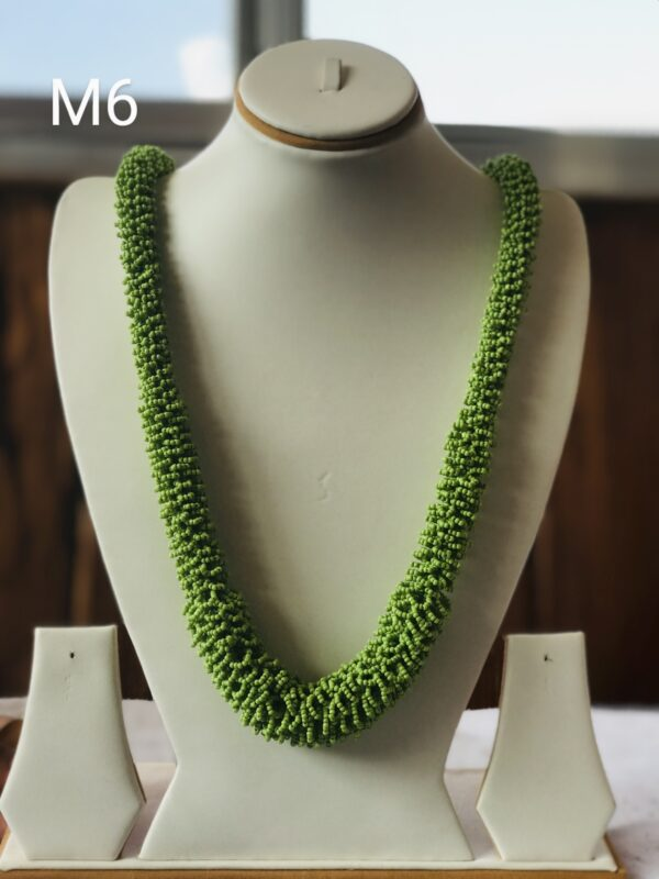 Green Cristal Mala, Necklace, with good quality M6