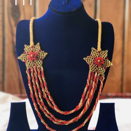 Double Star fashionable, Necklace original quality and hand made design T11