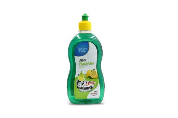Wonder Fresh Dish wash Gel Green 500ml