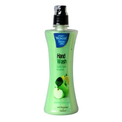 Wonder Fresh Hand Wash Green Apple 500ml